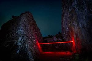 Night Light Stand Otherworldly Light Installations By Photographer Nicolas