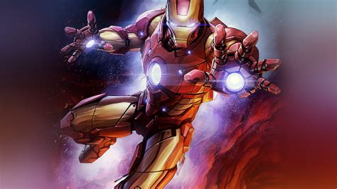 wallpaper  desktop laptop bh ironman hero marvel art