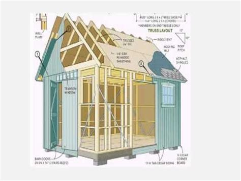 diy shed plans build your own wooden garden sheds