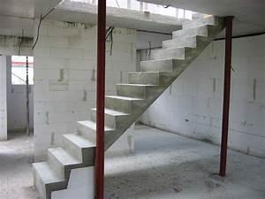 Treppe Im Wohnzimmer : stuwe betontreppe treppen rohbau ~ Lizthompson.info Haus und Dekorationen