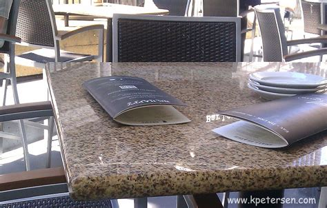granite tables for restaurants and bars
