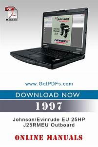 1997 Johnson  Evinrude Eu 25hp J25rmeu Outboard