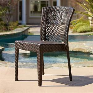 Noble, House, Dusk, Multi, Brown, Wicker, Outdoor, Dining, Chairs, Set, Of, 2, -216408