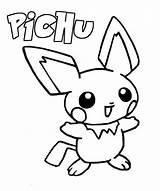 Pichu Coloring Pokemon Pages Coloriage Dessin Pikachu Printable Imprimer Info Colorier Colouring Sheets Plus Books Getcolorings Enregistree Guardado Desde Depuis sketch template