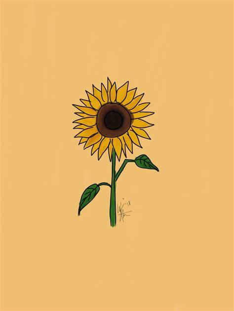 flower sunflower artist aesthetic papeis de