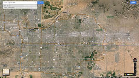 Mesa Arizona Map