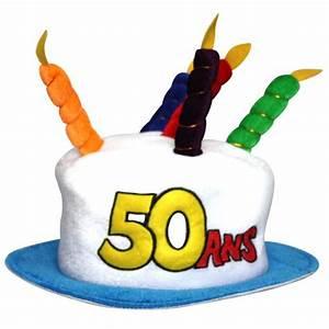 Gateau Anniversaire 2 Ans : chapeau gateau anniversaire 50 ans achat vente chapeau ~ Farleysfitness.com Idées de Décoration