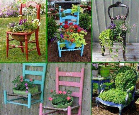 stuhl bunt 40 formas criativas para decorar o seu jardim gastando pouco