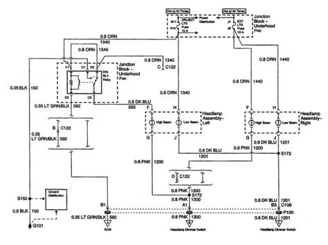 Wiring Schematic 2007 Impala 2007 chevy impala headlight wiring diagram wiring forums