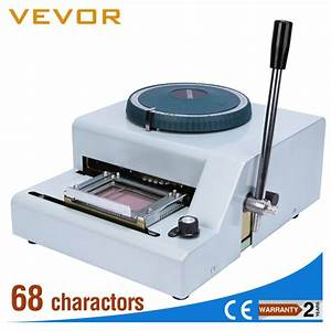 small number and letter plastic card embossing machine With letter embossing machine