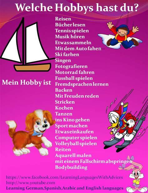 welche matratze für kinder 69 besten german hobbys y freizeit bilder auf lernen deutsche grammatik und