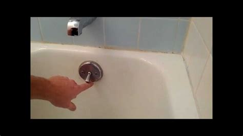 bath tub trip lever bath tub stopper replacement