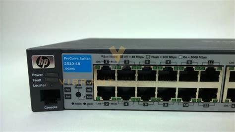 Hp 2510-48 Procurve 2510-48 Switch 10/100 Ports 2x Sfp 2x Gbe