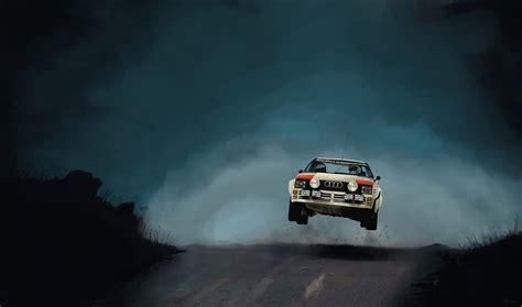 modest rally car jump wallpaper  images xkg  rally