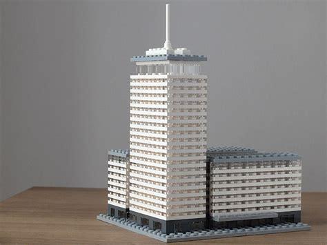 Moderne Lego Häuser by Ringturm Architektur Mit Lego Architecture With Lego