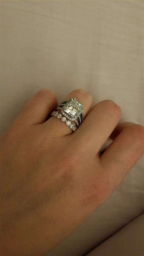 engagement ring wedding band cheap for future real one weddingbee photo gallery