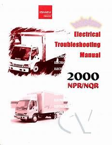 Isuzu Npr Nqr Gmc W Shop Manual Service Repair Book