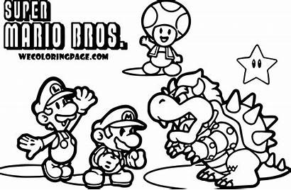 Mario Coloring Pages Super Maker Printable Getcolorings