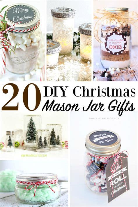 diy jar christmas gifts diy christmas mason jar gifts holiday jar presents