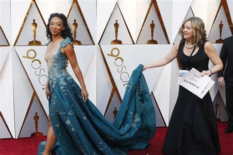 Oscars Red Carpet Glitters Anything Goes Fashion