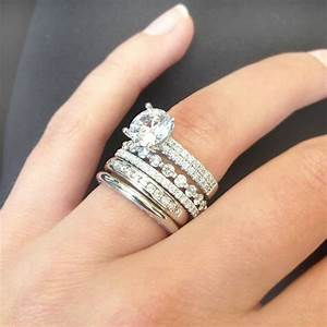 stackable diamond rings perhanda fasa With stackable engagement and wedding rings