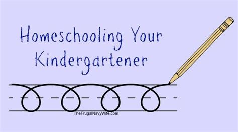 Homeschooling Your Kindergartener | Teaching homeschool ...