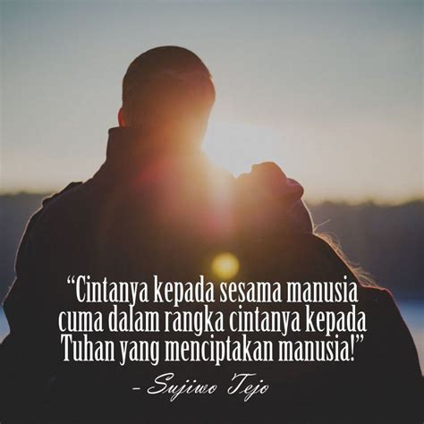 Quotes Cinta Tak Sebercanda Itu
