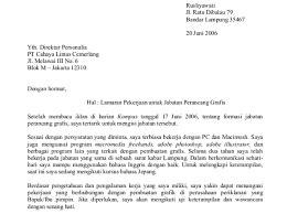 Penulisan Sul Lamaran Kerja by Cara Menulis Surat Balasan Lamaran Kerja Budhii Weblog