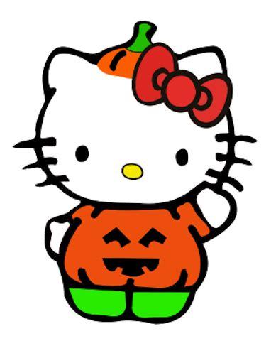 Creating In Carolina Hello Kitty Pumpkin Costume (freebie