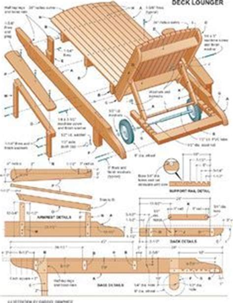 diy wood chaise lounge chairs lounge chair plans