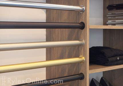 closet garment rods cabinet rods orange county