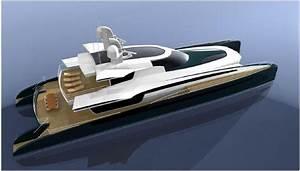 Futuristic Catamaran
