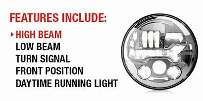 Headlights Led Evo