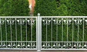 Schmiedeeisen Zaun Zune Eisen Gartenzaun Metall Monaco