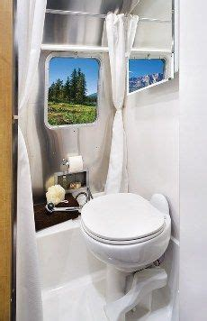 airstream sport  travel trailer bathroom