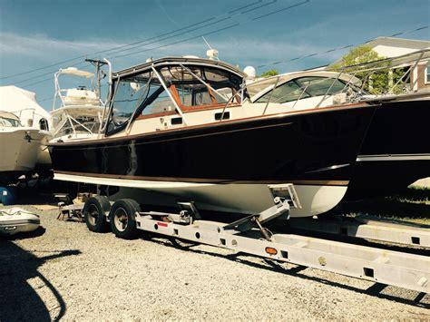 fortier hardtop power boat  sale wwwyachtworldcom