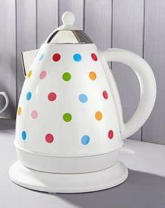 polka dot toaster and kettle stainless steel polka dot spotted kettle multi coloured