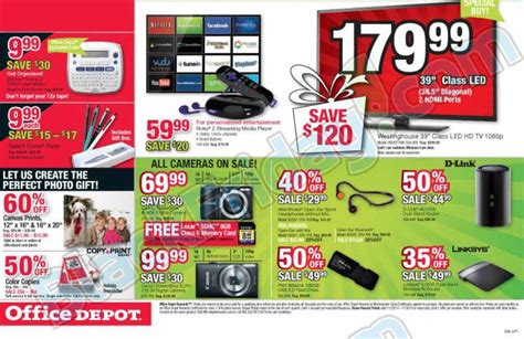 Office Depot Hours Black Friday by Office Depot Black Friday 2013 Ad Find The Best Office