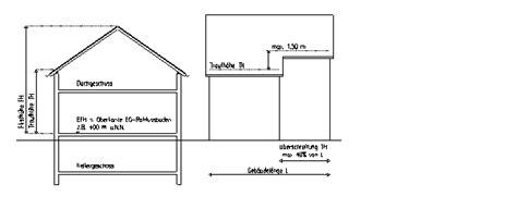 Garage über Baugrenze Bauen by Bauleitplanung