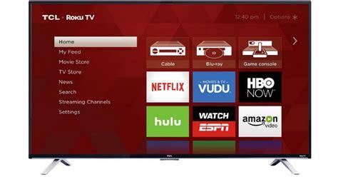 Tcl 55″ 4k Ultra Hd Roku Smart Tv Only 9.99