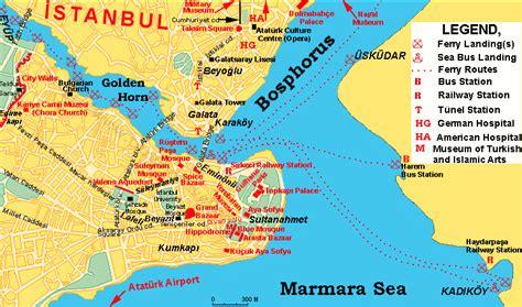 map  istanbul travelquazcom