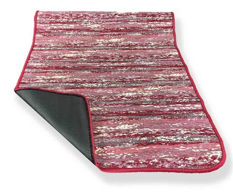 tappeti per cucina antiscivolo tappeto cucina gommato antiscivolo stripe bordeaux misura