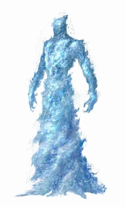 Elemental Dnd Water Pathfinder Monster Creatures Fantasy