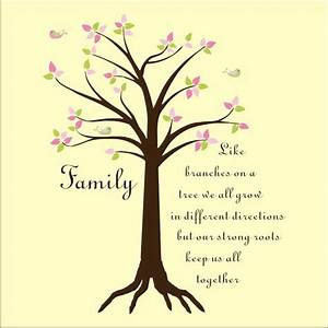 quotes about family tree