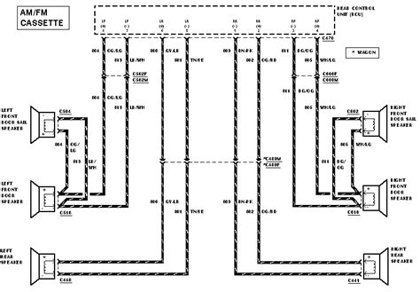 2000 Ford Tauru Factory Stereo Wiring Diagram by Where Can I Find A 1999 Ford Taurus Stereo Wiring Harness