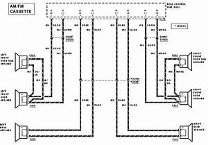 2000 Ford Taurus Factory Radio Wiring Diagram