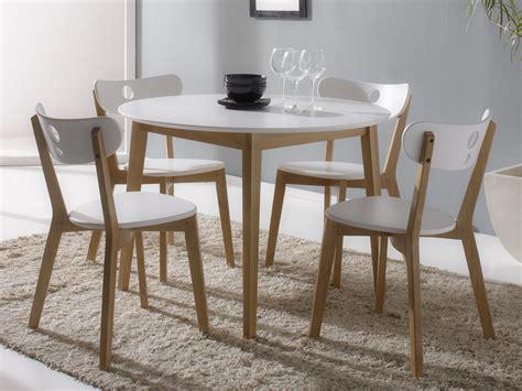 table a manger avec chaise table salle a manger avec chaises maison design bahbe com