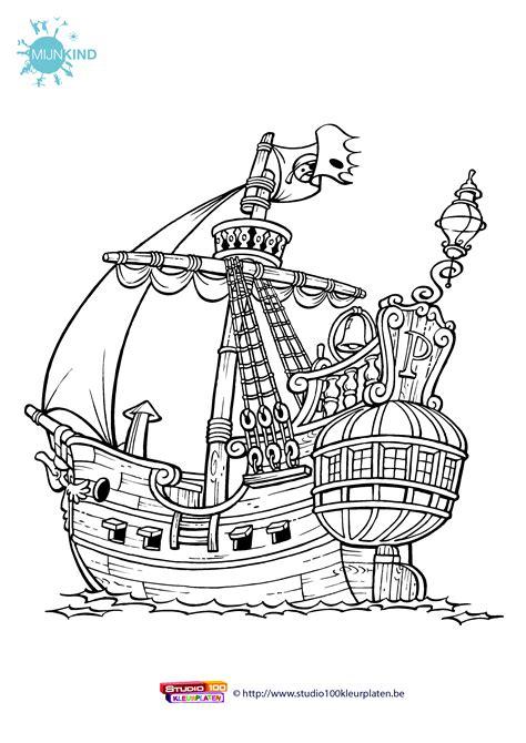 Piet Pieraat Kleurplaat by Print De Gratis Kleurplaat Piet Piraat Kleurplaat