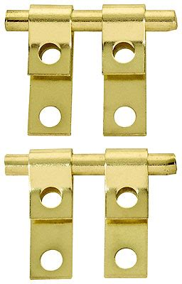 pair mirror mounting friction hinges house antique hardware