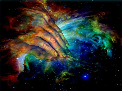 Hands Of Creation Digital Art By Evelyn Patrick